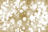 Gold Christmas snowflake background