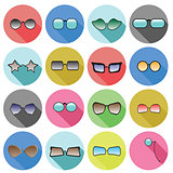 glasses icons