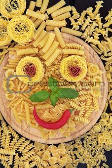 Smiley Pasta