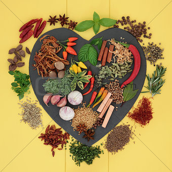 Aromatic Herbs and Spices