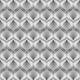 Design seamless monochrome mosaic pattern