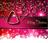 New Year and Happy Christmas background