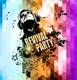 Attractive Club Disco Flyer background