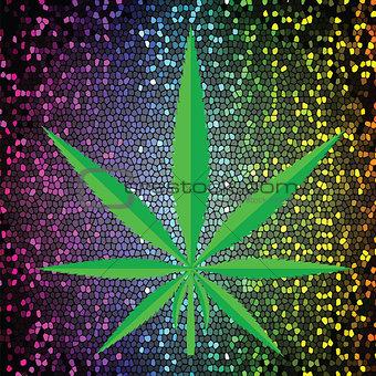 cannabis icon