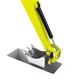 the excavator shovel