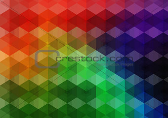 Abstract mesh background with  lines and shapes