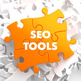 Seo Tools on Orange Puzzle.