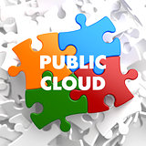 Public Cloud on Multicolor Puzzle.