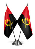 Angola - Miniature Flags.