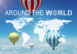 Around The World header