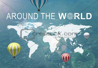Around The World header