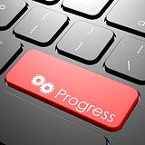 Progress keyboard