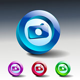 camera icon  symbol illustration lens photo