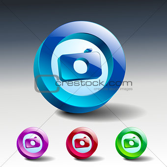 camera icon  symbol illustration lens photo