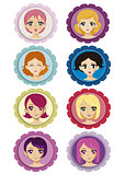 manga badges