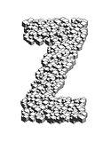 3D Cube Letter Z