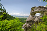 "Strange Rock formation near the town of Shumen, Bulgaria, named ""Okoto"" (The ""Eye"")"