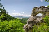 "Strange Rock formation near the town of Shumen, Bulgaria, named ""Okoto"" (The ""Eye"")"