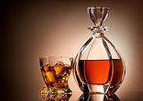 Golden whiskey