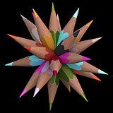 20 Color Pencils