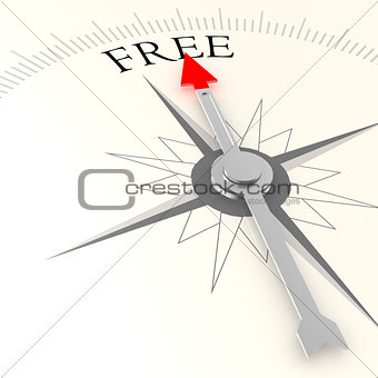 Free compass