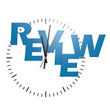 Review word with clock