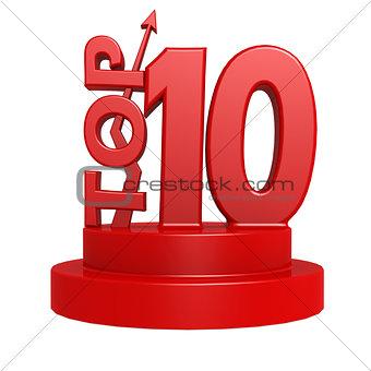 Top ten red