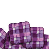 Plaid Purple Cushions