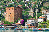 Turkish city of Alanya