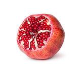 Bright Ripe Delicious Juicy Pomegranate