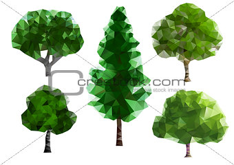 Green Trees