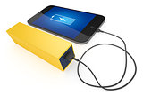 smart phone and power bank