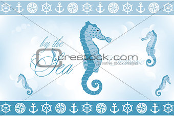 By the sea - seahorse