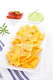 Delicious nachos.