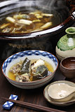 suppon nabe, japanese hotpot cuisine