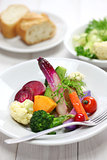 colorful vegetarian salad