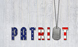 dog tags for patriot