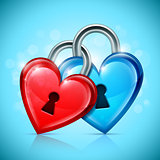 Two Heart Locks