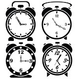 alarm clock icons