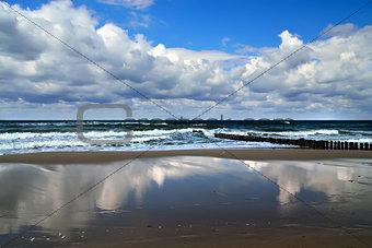 Beautiful Baltic sea coast