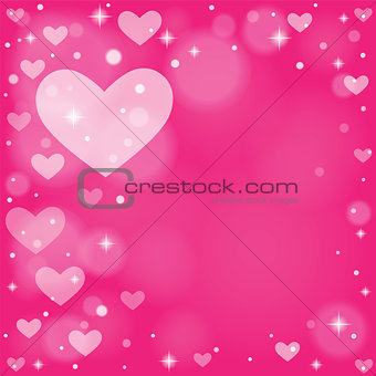 Abstract background to the Valentine's day.