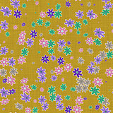 Floral canvas for background