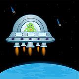 Extraterrestrial spaceship