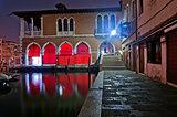 Venice Italy fish market