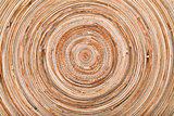 circle wooden background