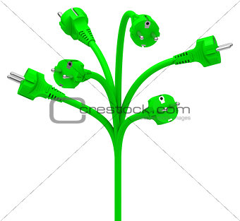 green energy tree