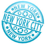 New York City stamp