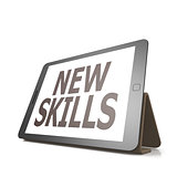 Tablet with new skills word