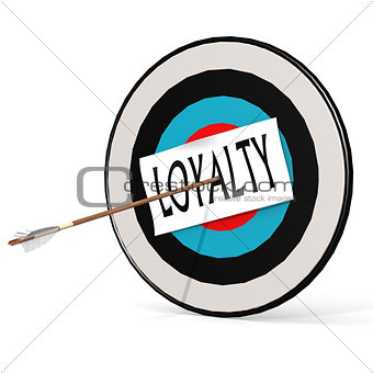 Arrow, loyalty and board