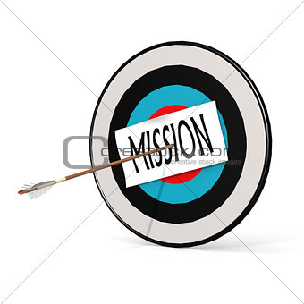 Arrow, mission and board
